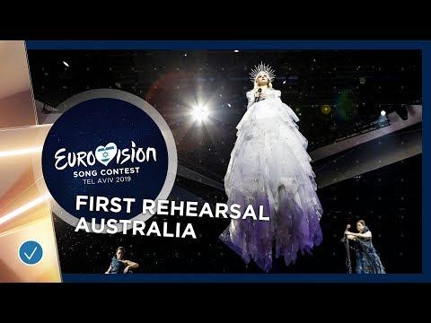Australia ???????? - Kate Miller-Heidke - Zero Gravity - First Rehearsal - Eurovision 2019