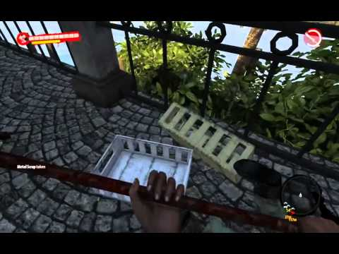 dead island riptide gameplay 9600gt 60fps