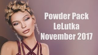 Powder Pack LeLutka November 2017 - Unboxing Video - Second Life Subscription Box