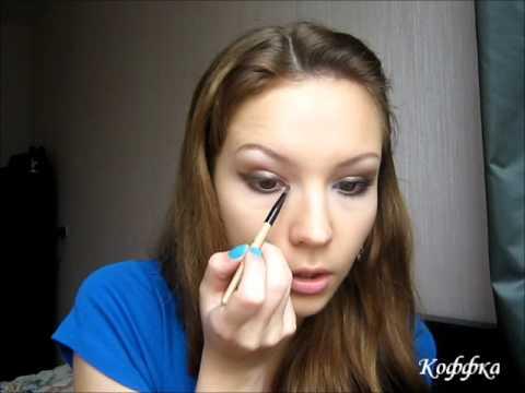 Вечерний макияж в стиле Линдси Лохан