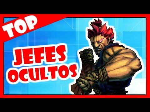 TOP 10 JEFES SECRETOS EN LOS VIDEOJUEGOS