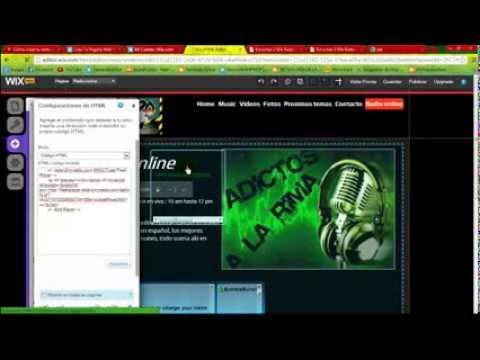 Como poner tu radio online en tu pagina web