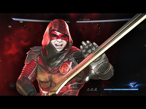 ROBIN IS AMAZING! Injustice 2 ONLINE Ranked Match! ( Robin GAMEPLAY AKA Damian Wayne )