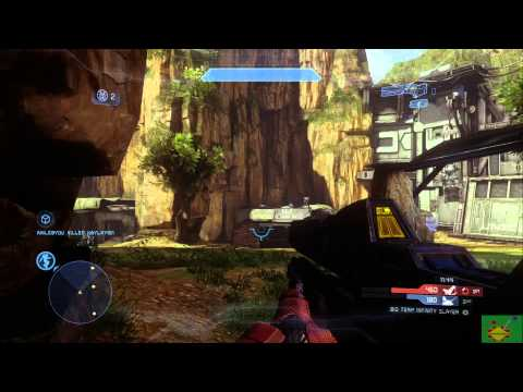 Halo 4 Multiplayer Gameplay Online XBOX Live Exile Big Team Infinity Slayer 2-1-12
