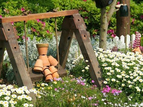 Красивые сады и дачи своими руками