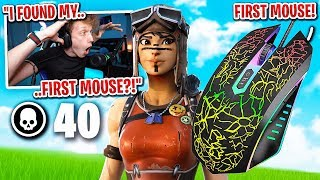 I found my FIRST Mouse for Fortnite and it TURNED me into THIS... (season 1 mouse)
