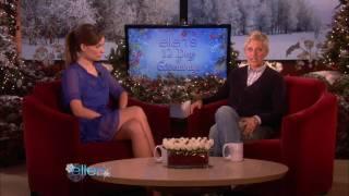 Olivia Wilde on Ellen