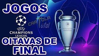 Sorteio dos confrontos das oitavas de final da UEFA Champions League 2018/2019
