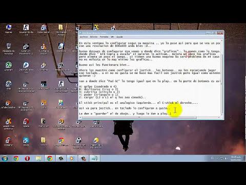 Configurar Dragon ball Z Budokai Tenkaichi 3 para pc (graficos y controles)