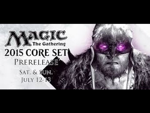 M15 Pre-release Box Opening and Deck Tech - Magic the Gathering...