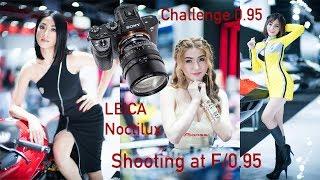 Shooting Models at f/0.95 with Leica Noctilux at the Bangkok Motor Show