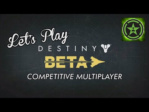 Lets Play Destiny Competitive Multiplayer