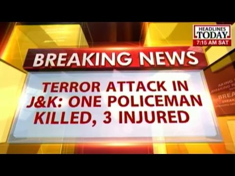 Militants carry out grenade attack in Baramulla early today