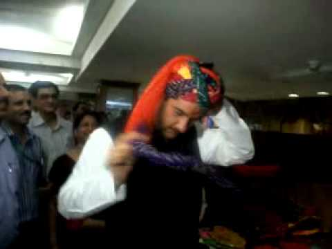 Minister Jitendra Singh tieing turban at Exhibition _Sagar31News