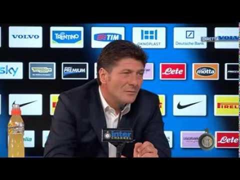 Live! Conferenza Mazzarri pre Torino-Inter 19/10/2013 h. 13:30 CEST