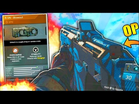 *NEW* RVN OVERPOWERED CLASS SETUP CALL OF DUTY INFINITE WARFARE (IW RVN)