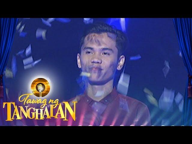 Tawag ng Tanghalan: Jovany Satera wins for the 2nd time!