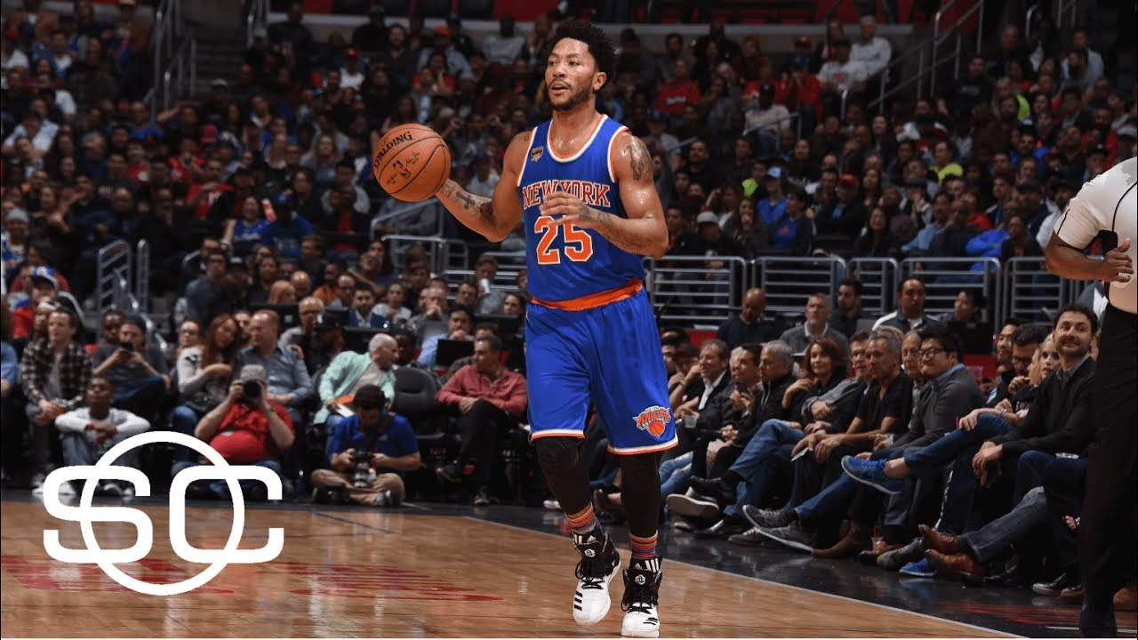 With Kyrie Irving Wanting Out, Derrick Rose Made Sense For Cavaliers | SportsCenter | ESPN