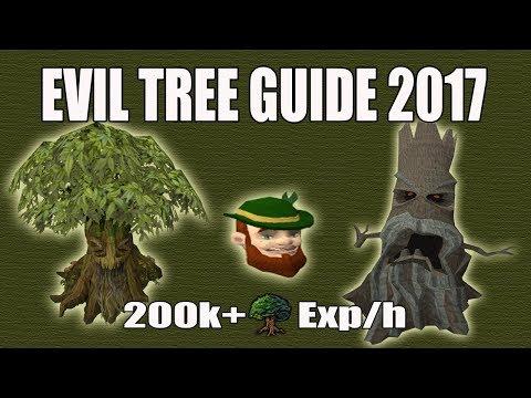 [Runescape 3] Evil Tree D&D Guide 2017 | 200k WC Exp/h | Elder Trees