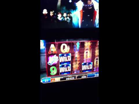 Michael Jackson King Of Pop Slot Machine - WMS Gaming Slots