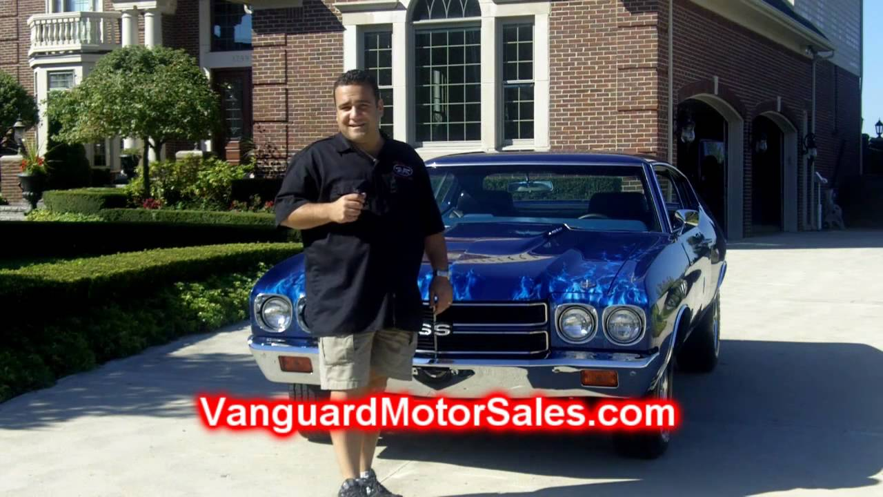 1970 Chevrolet Chevelle 396 Classic Muscle Car For Sale In Mi Vanguard Motor Sales Youtube