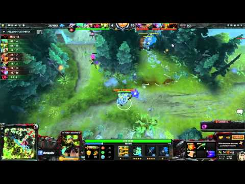Zephyr vs birdGang, Korea Dota 2 League Day 8 Game 2