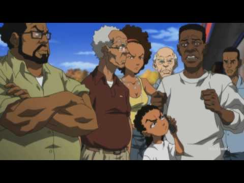 The Boondocks S03e13 - Fried Chicken Scene Hd video