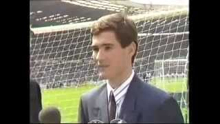 NIGEL CLOUGH -NOTTINGHAM FOREST FC-YOUNG EAGLE OF THE YEAR 1987 88 - FIRST INTERVIEW ON TV