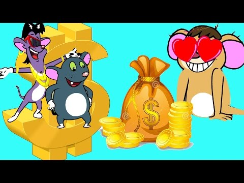 Rat-A-Tat | 'Mouse Billionaires' | Chotoonz Kids Funny Cartoon Videos Sunday Sundaes