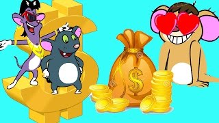 Rat-A-Tat | 'Mouse Billionaires' | Chotoonz Kids Funny Cartoon Videos Sunday Sundaes