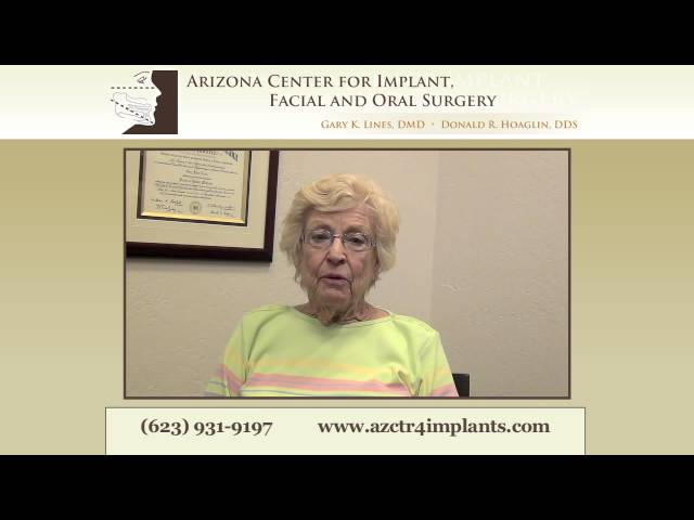 Dental Implants Phoenix patient shares her experience....