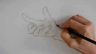 How to draw hands - with Di Carvalho
