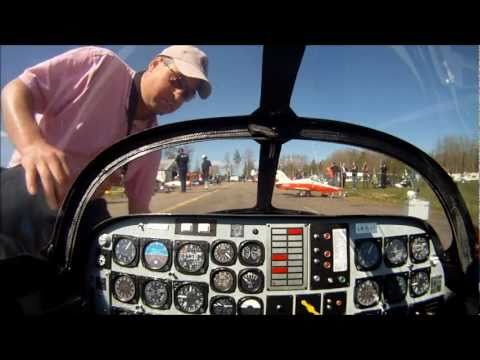 C-ARF CT-114 Tutor RC Jet onboard video