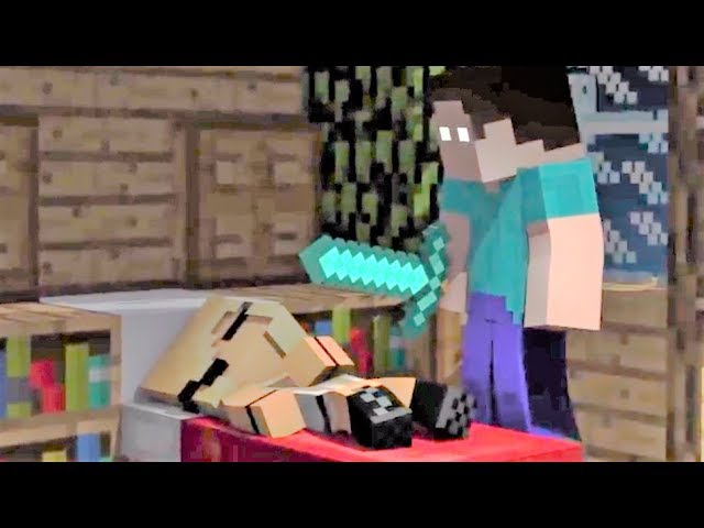 NEW Minecraft Song Psycho Girl 10 - Psycho Girl VS Herobrine- Minecraft Animation Music Video Series