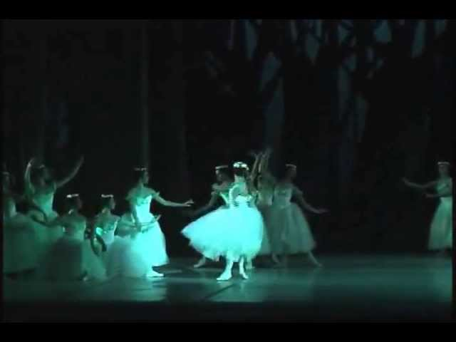Giselle 2do acto - Anette Delgado y  Dani Hernandez - Ballet Nacional de Cuba