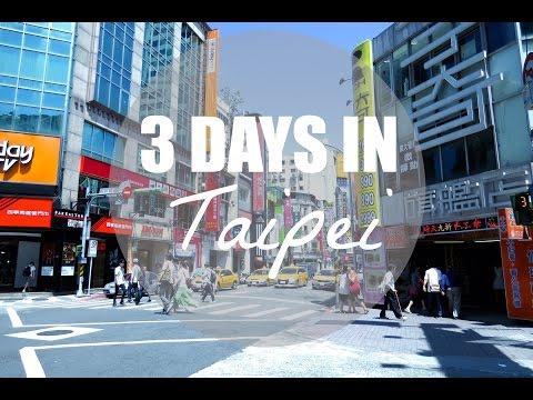 3 Days in Taipei   Jenny Zhou