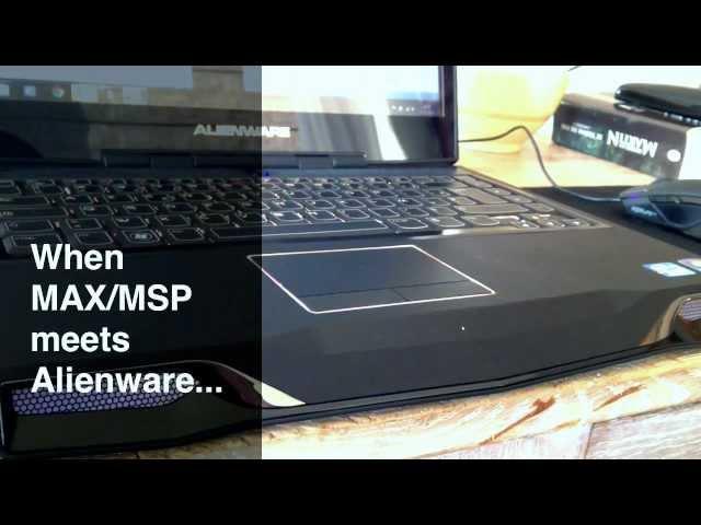 Alienware keyboard SDK + MAX/MSP