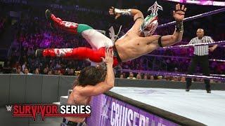 Kalisto vs. Brian Kendrick - WWE Cruiserweight Title Match: Survivor Series 2016 on WWE Network