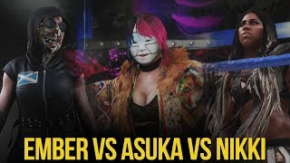 download lagu Wwe 2k18: Ember Moon Vs Asuka Vs Nikki Cross gratis