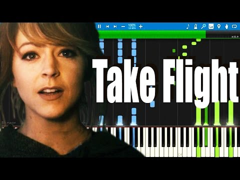 Lindsey Stirling - Take Flight ( Piano Version ) | Synthesia Piano Tutorial