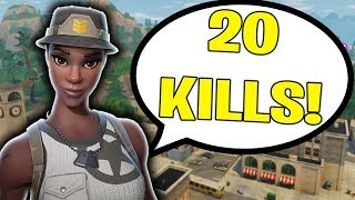 I KILLED THE FINAL 9 PLAYERS IN THE LOBBY!!! (Solo Squad 20 Kill Win)