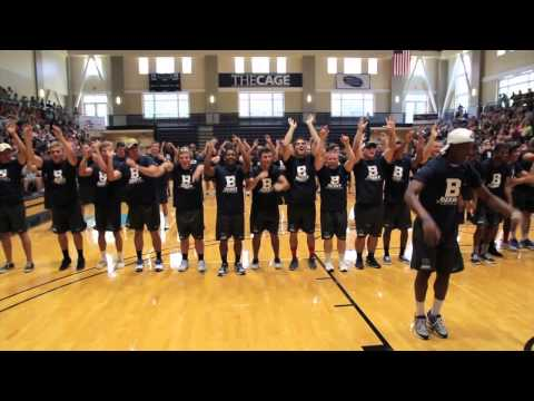 Berry College Flash Mob 2013 (feel This Moment) video