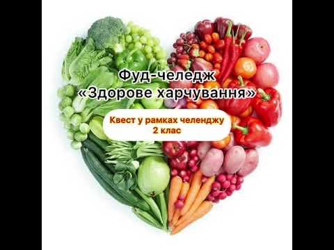 Фудчеленж «Здорове харчування»
