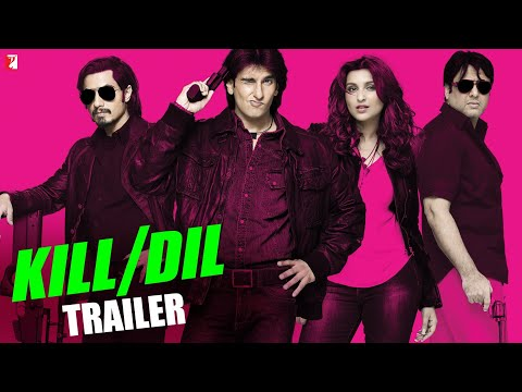 Kill Dil - Trailer - Ranveer Singh | Ali Zafar | Parineeti Chopra | Govinda video