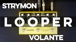 Strymon Volante Demo [Part 2] - Looper Mode