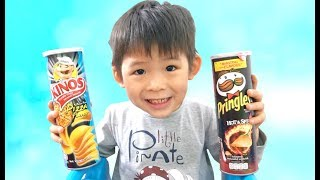 Potato chips lays are lost - Learn Colors & Numbers, Johny Johny Yes Papa song, Pretend Play for kid