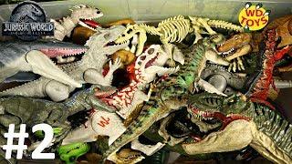Jurassic World 50 Gallon Surprise Box Part 2 Dinosaur Toys  Mattel Vs Hasbro  Fallen Kingdom T-Rex