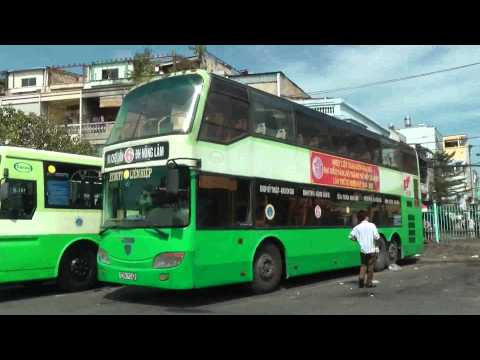 HO CHI MINH CITY BUSES DECEMBER 2012