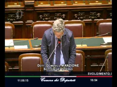 Roma - Camera - 17^ Legislatura - 479^ seduta (11.09.15)