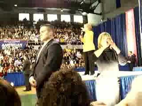 Hillary Clinton speaks at Hammond Civics Center 4